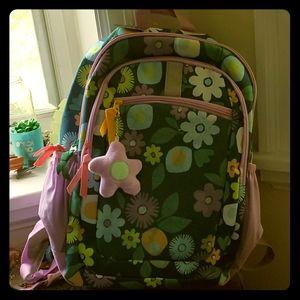 """17"""" Kids' Backpack Floral - Cat & Jack"""